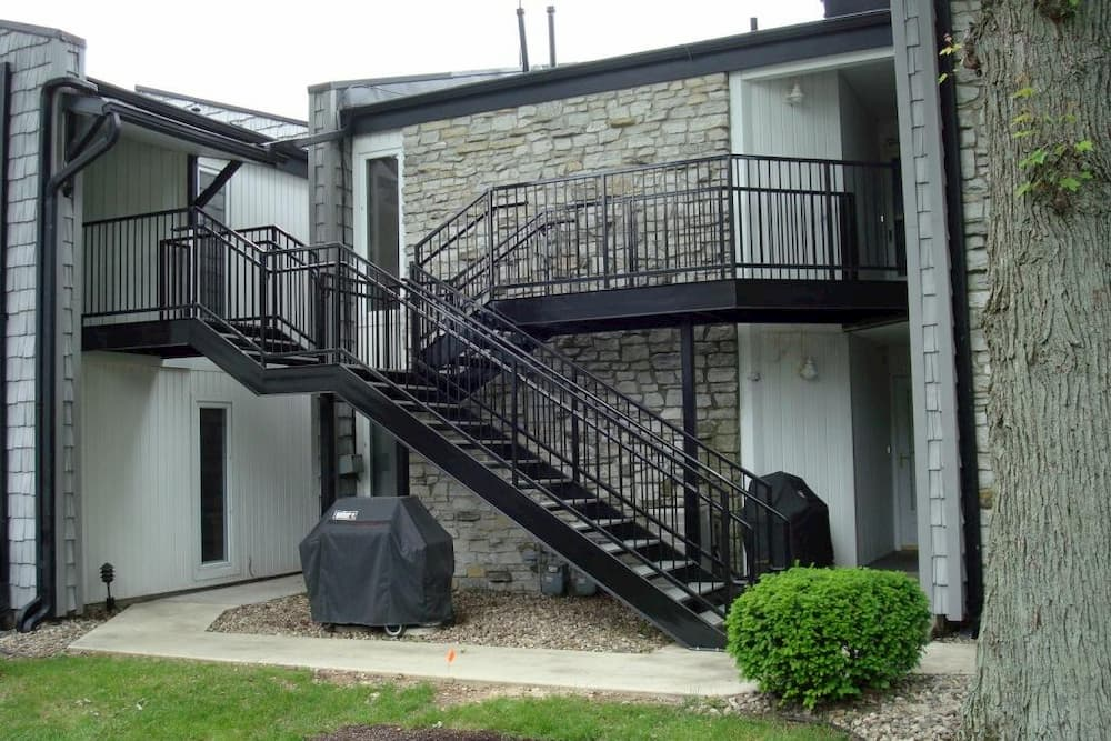 Custom Exterior Stair for Apartment Complex